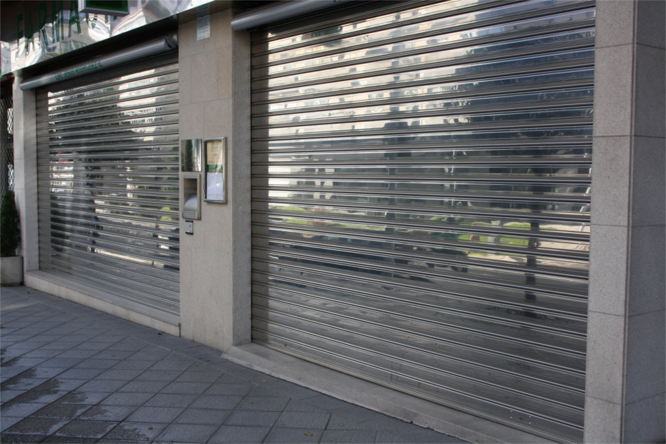 Persianas met licas galvanizado y acero inox perfiles - Puerta de acero galvanizado ...
